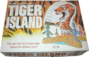 A 60's board game - Tiger Island